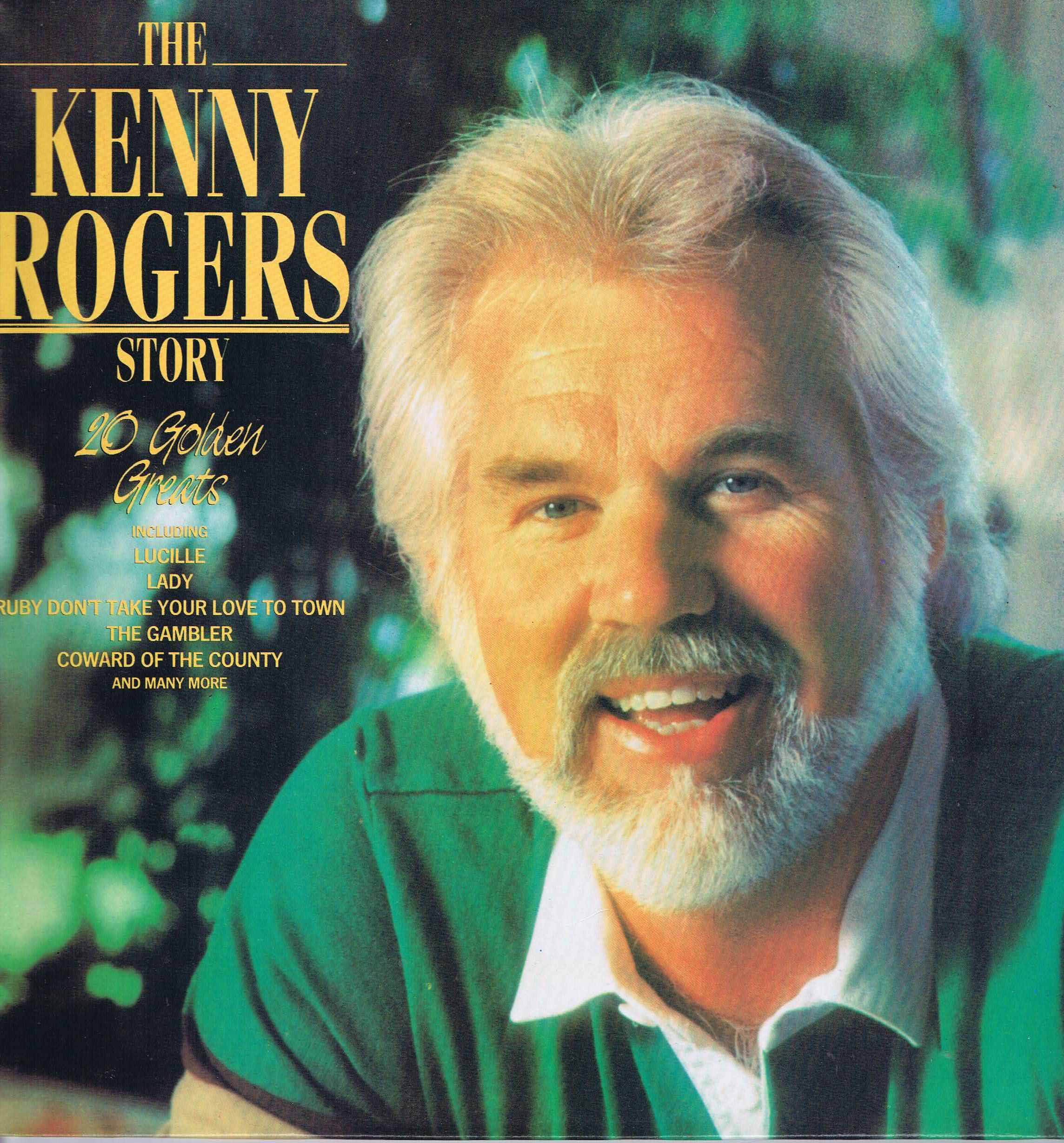 Kenny Rogers The Kenny Rogers Story Emtv 39 Lp Vinyl Record Singer Dolly Parton Kenny Rogers Music