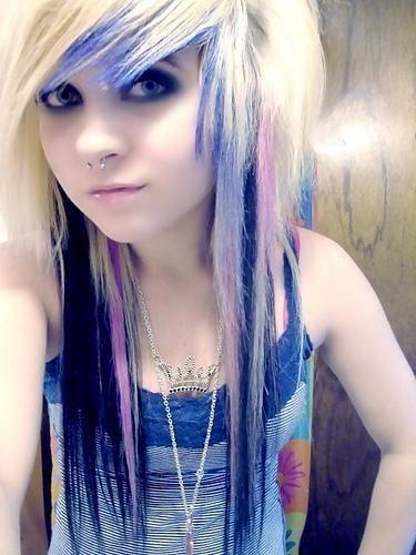 emo scene hair-scene emo girl hair