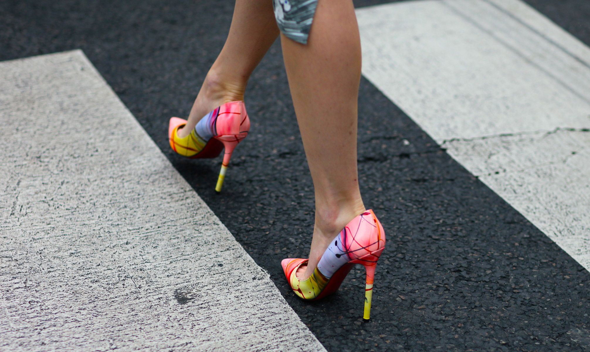 Christian Louboutin pumps.  No other way to say it...these shoes ROCK.