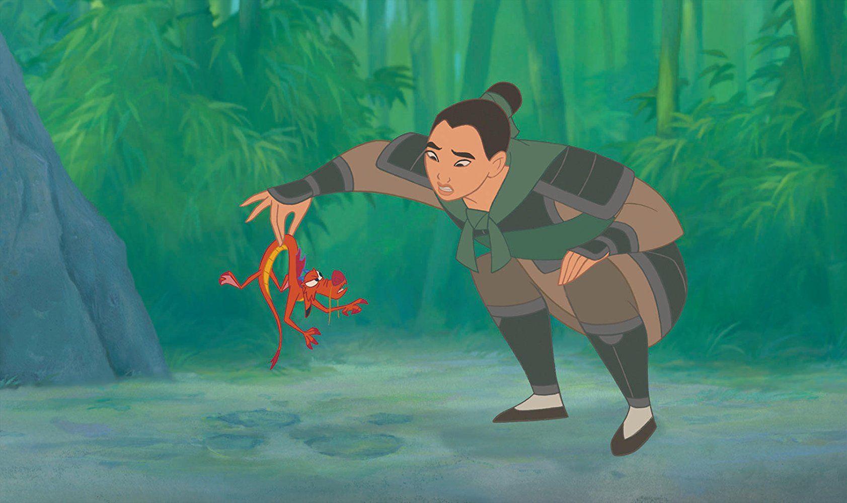 Eddie Murphy, MingNa Wen, and Lea Salonga in Mulan (1998