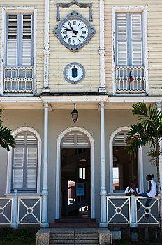 St Pierre Maison De La Bourse Reconstruction A L Identique De La Chambre De Commerce Detruite En 1902 West Indies French West Indies Colonial House