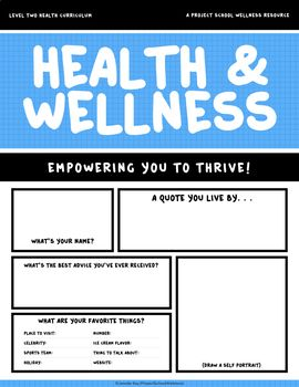 Middle School Health Curriculum - - Health Lesson Plans ...