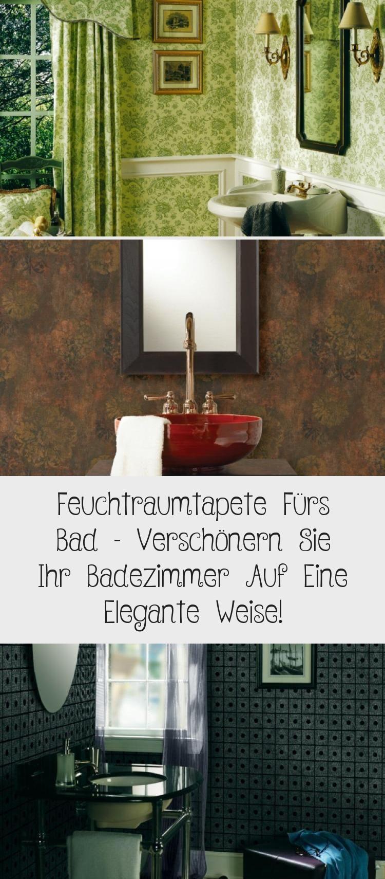 Feuchtraumtapete Furs Bad Verschonern Sie Ihr Badezimmer Auf Eine Elegante Weise Schlafzimmer Bodenfliesen Fototapeten Wallpap In 2020 Tapeten Badezimmer Zimmer
