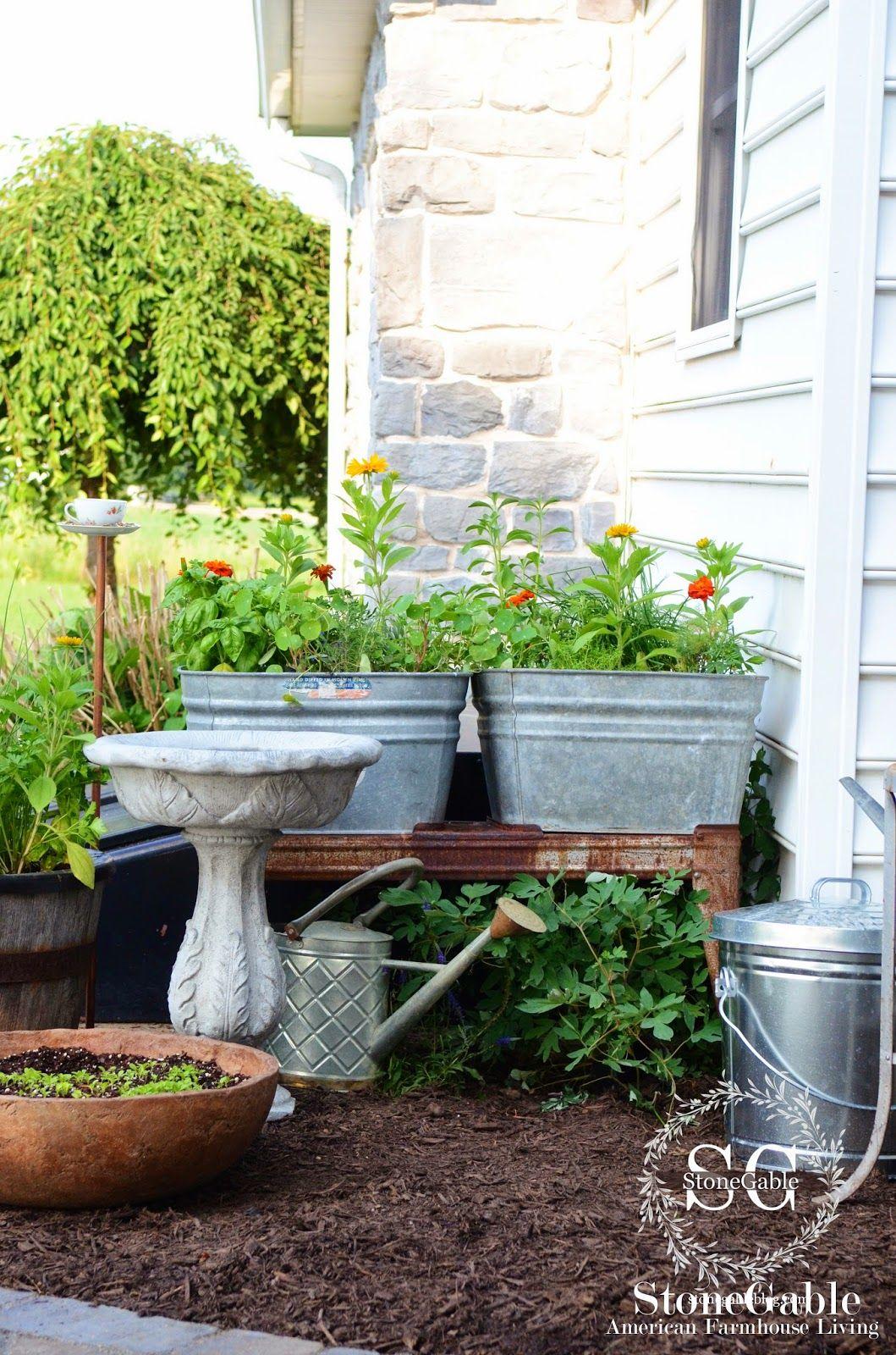 summer potting bench and kitchen garden outdoor herb garden indoor herb garden herb planters on outdoor kitchen herb garden id=70126