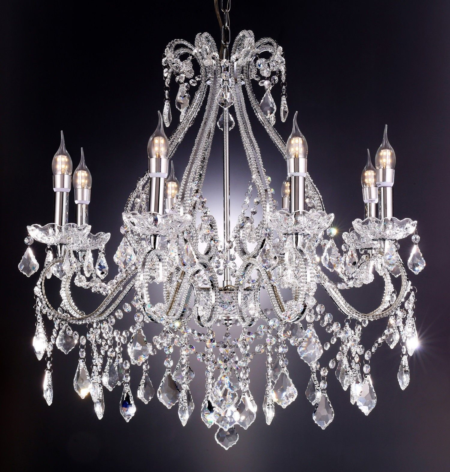 Nola light crystal chandelier candle chandelier chandeliers and
