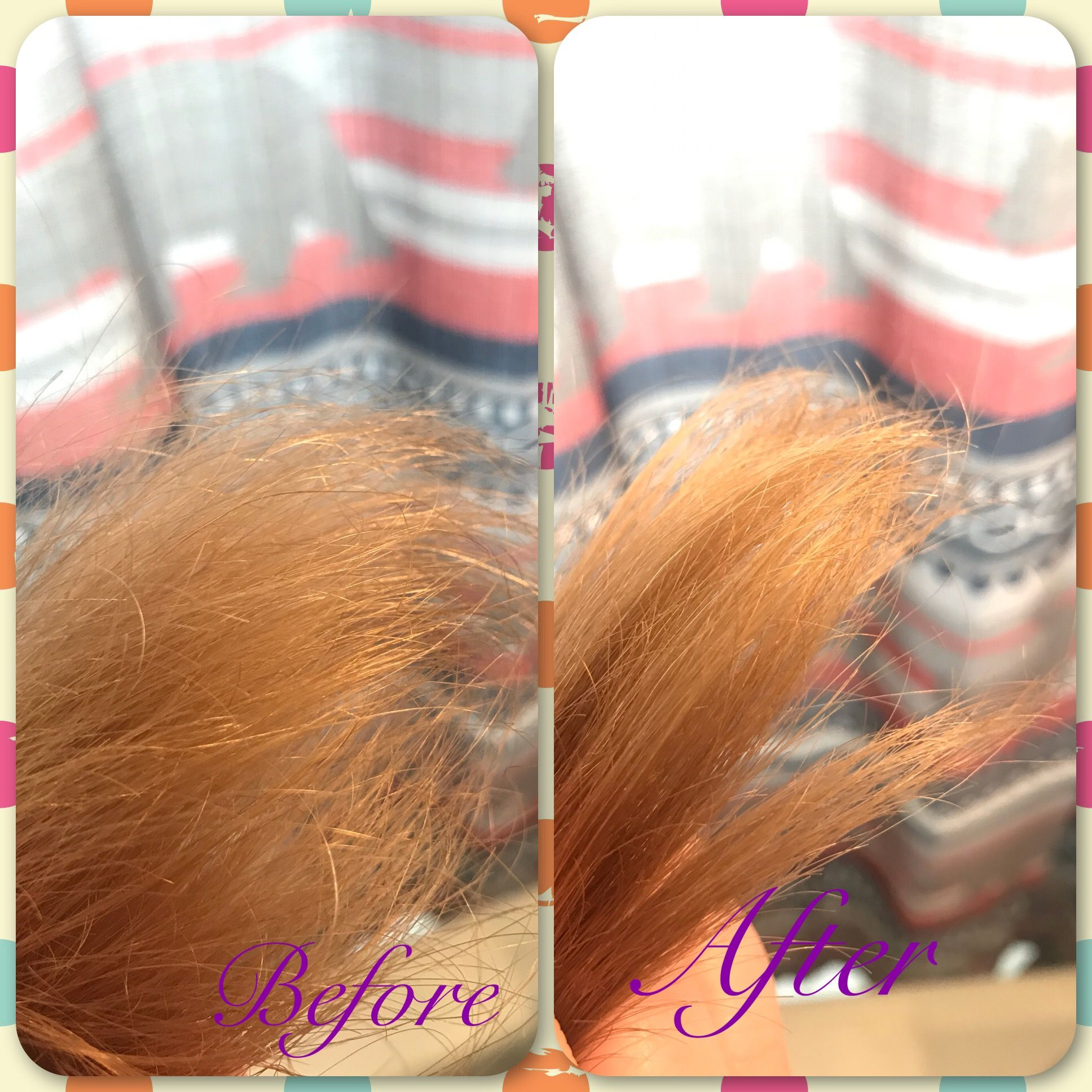 Rejuvabeads instant results. Before and after! (With