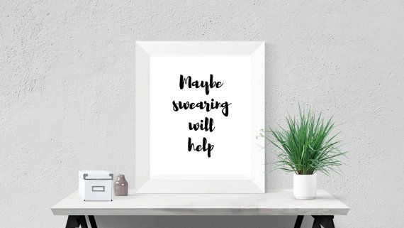 Office Desk Accessory Cubicle Wall Art Office Poster Motivational ...