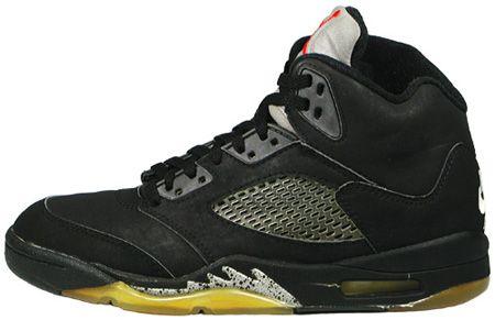 Air Jordan V - Black/Black/Metallic silver (1990 - Retired) My