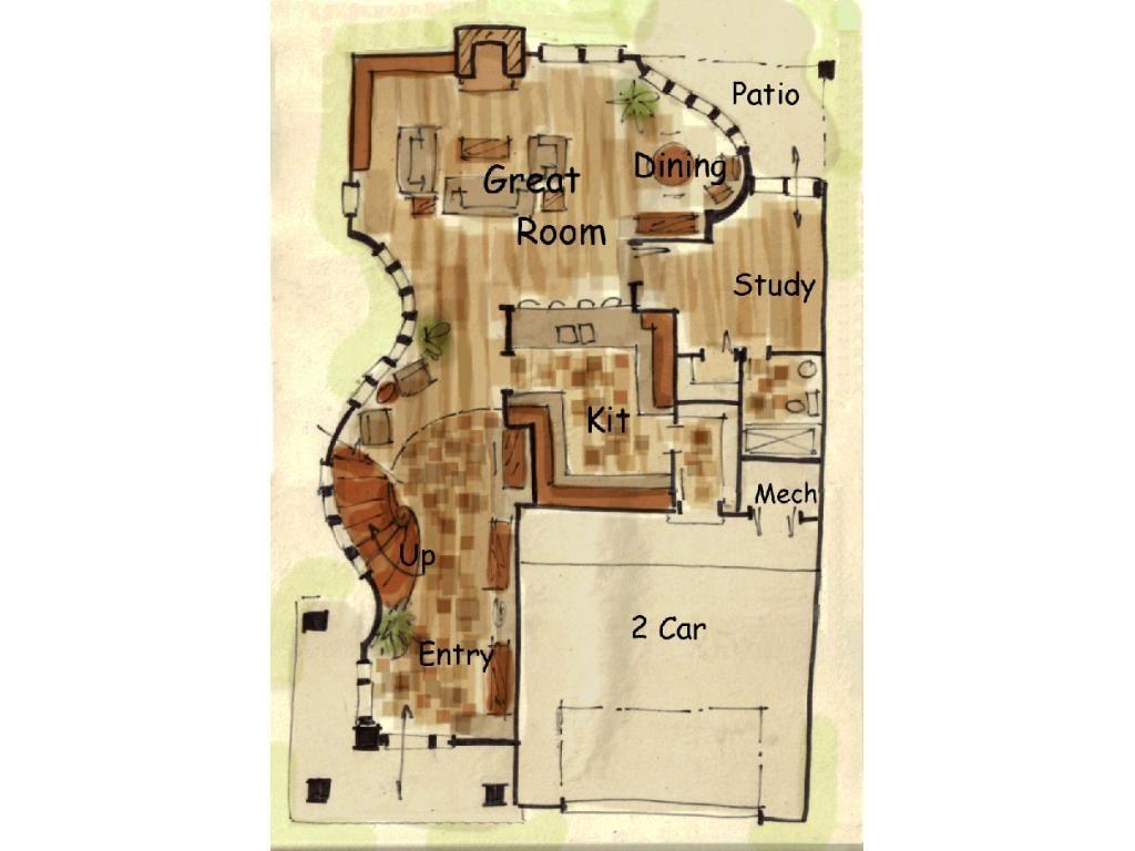 Fantasy house layouts