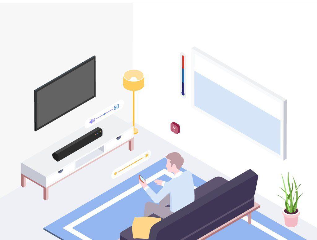 Smartthings Isometric v 2 en 2019 | Isometric Graphic | Illustration