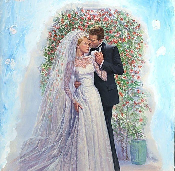 Поздравления марта, свадебные картинки жених и невеста винтаж