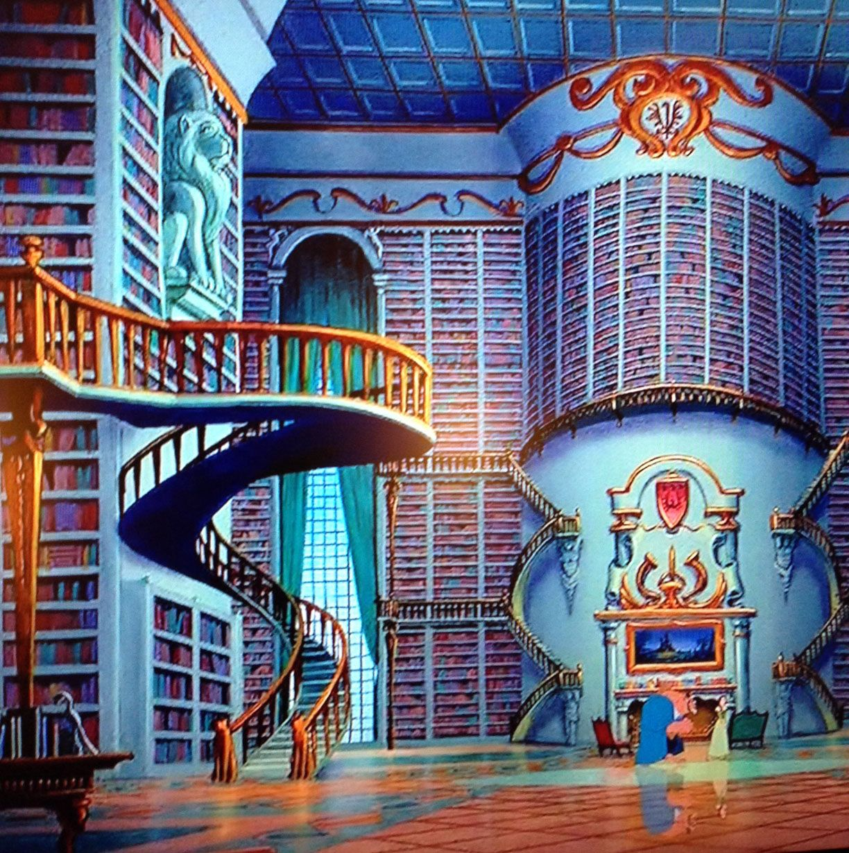 Images For > Beauty And The Beast Library Scene | Beauty & the Beast ...