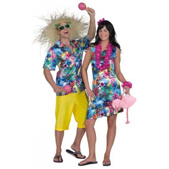 Populair Tropical jurk voor dames. Hawaii of tropisch feestje? Bij Fun en &SO73