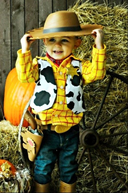 Woody Custom Shirt and Vest Disney Birthday Photo Halloween Boutique Costume. $40.00, via Etsy.