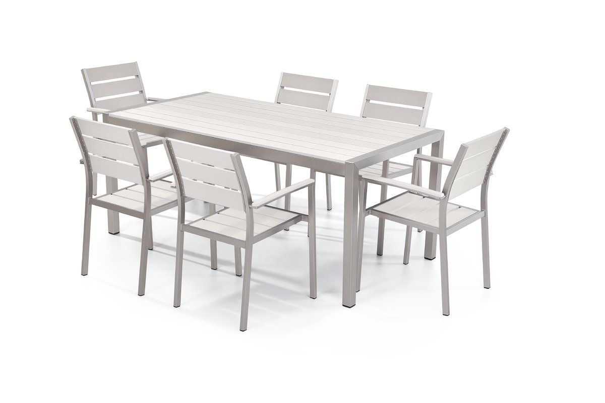 The Modern Design Outdoor Dining Set Is Not Only Visually