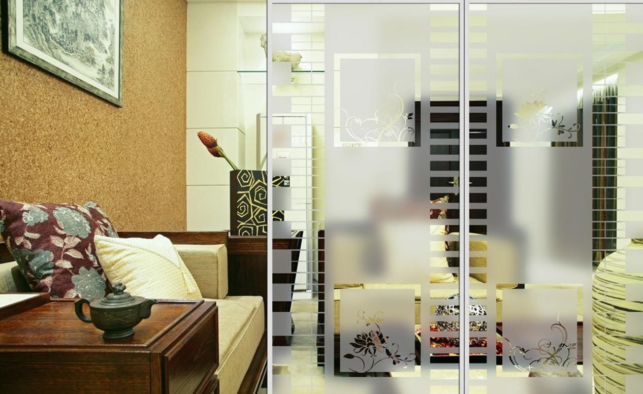 Glass Partition For Living Room And Dining Room