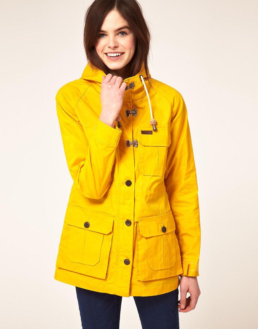 Penfield Parka: Brighten up a rainy day! | Yellow. | Pinterest ...