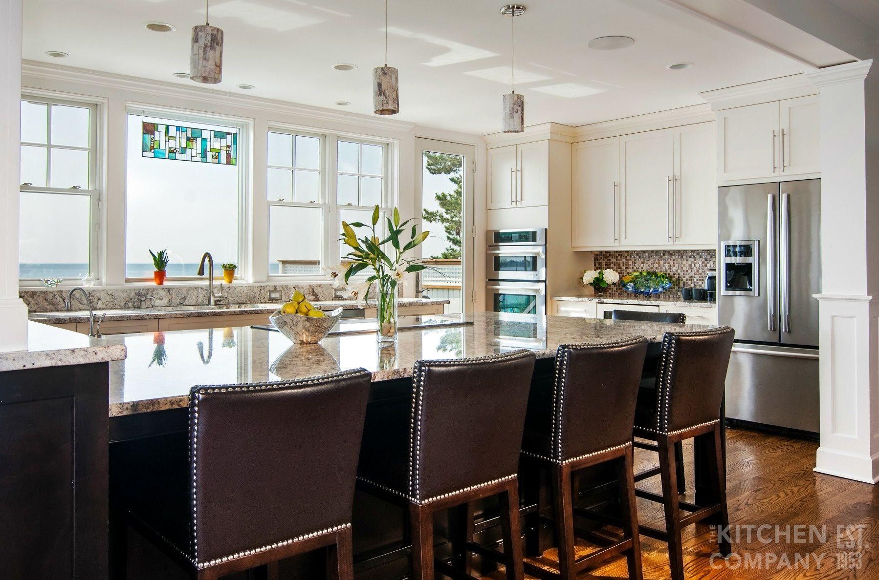 Custom Contemporary Kitchen in Milford, CT   Kitchen ...