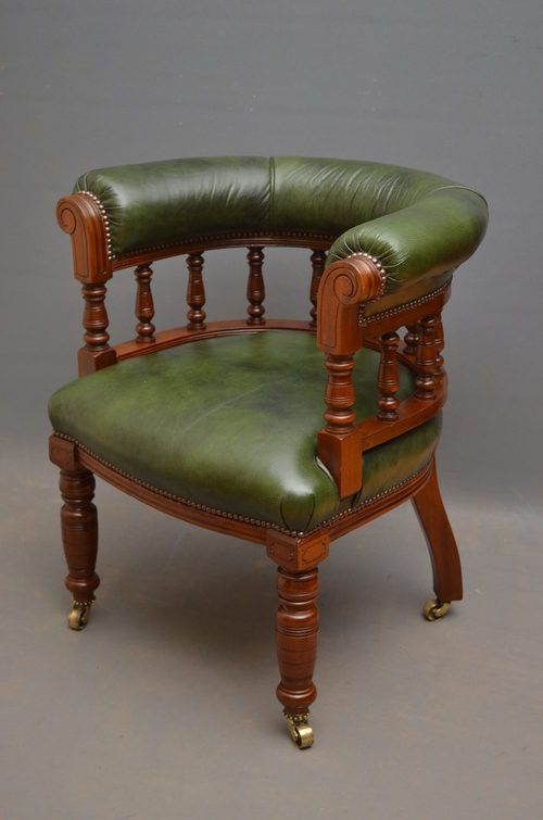 victorian office chair.