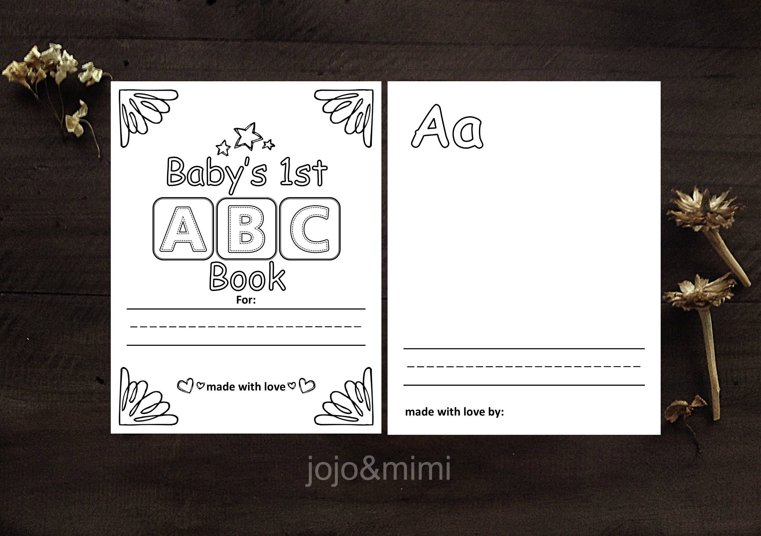 Instant Abc Baby Book Baby S First Alphabet Book