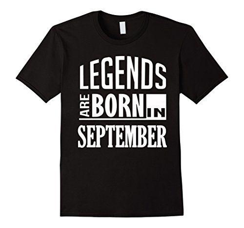Men's Legends Born September Birthday Gift 2XL Black Unknown…