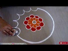 Beautiful flower rangoli design also best patterns images ideas rh pinterest