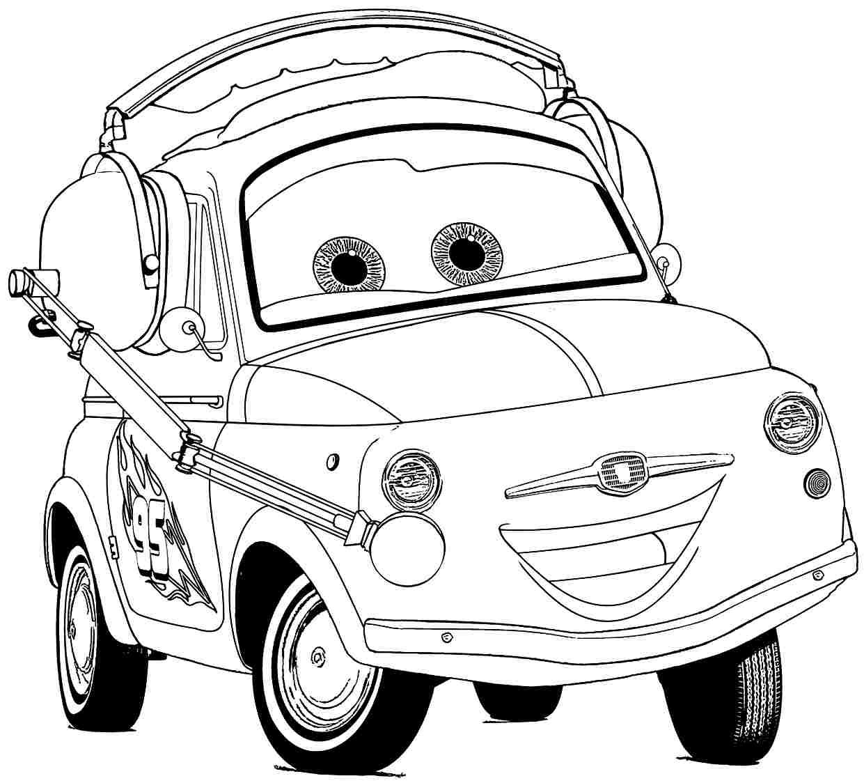 Cars The Movie Coloring Pages Cars Movie Coloring Pages Day