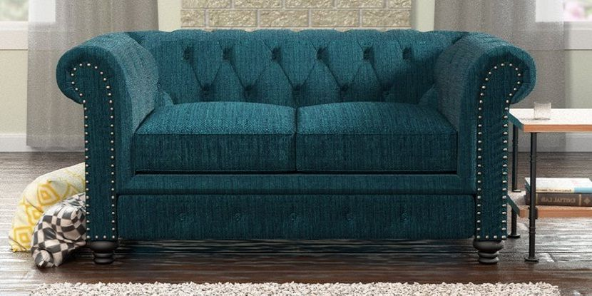 Chesterfield Sleeper Loveseat