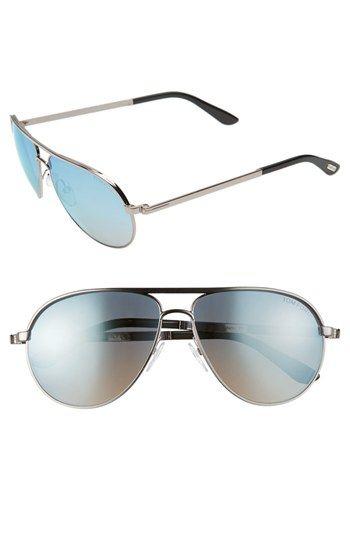 6f5e4fa66f57e Tom Ford 'Marko' Metal Aviator Sunglasses available at #Nordstrom ...