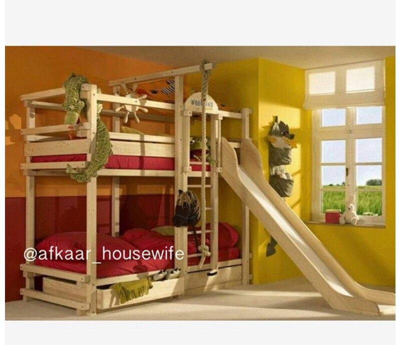 Pin By Mariah Mrt On Bedroom Design Cool Bunk Beds Bunk Bed