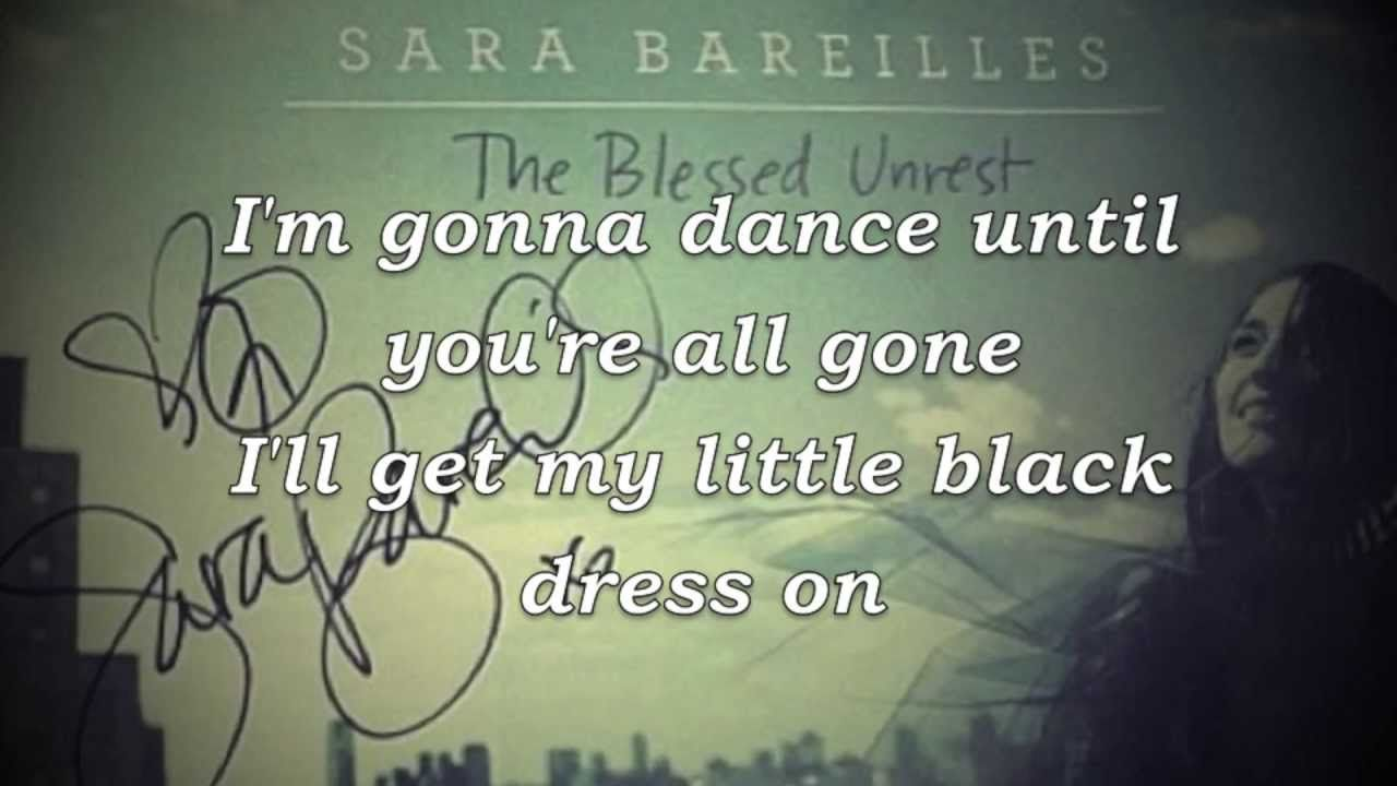 Sara Bareilles - Little Black Dress Lyrics (HD) (+playlist)   A ...