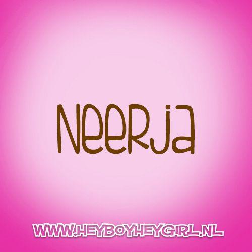 Neerja  (Voor meer inspiratie, en unieke geboortekaartjes kijk op www.heyboyheygirl.nl)