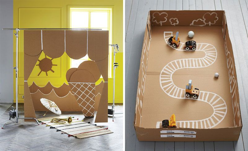 Diy Cardboard Toys For Kids By Kids Interiors Diy Cardboard Diy Cardboard Toys Cardboard Toys