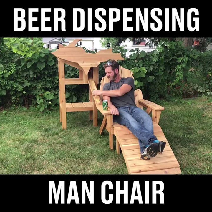 Image result for thompson woodworks beer chair