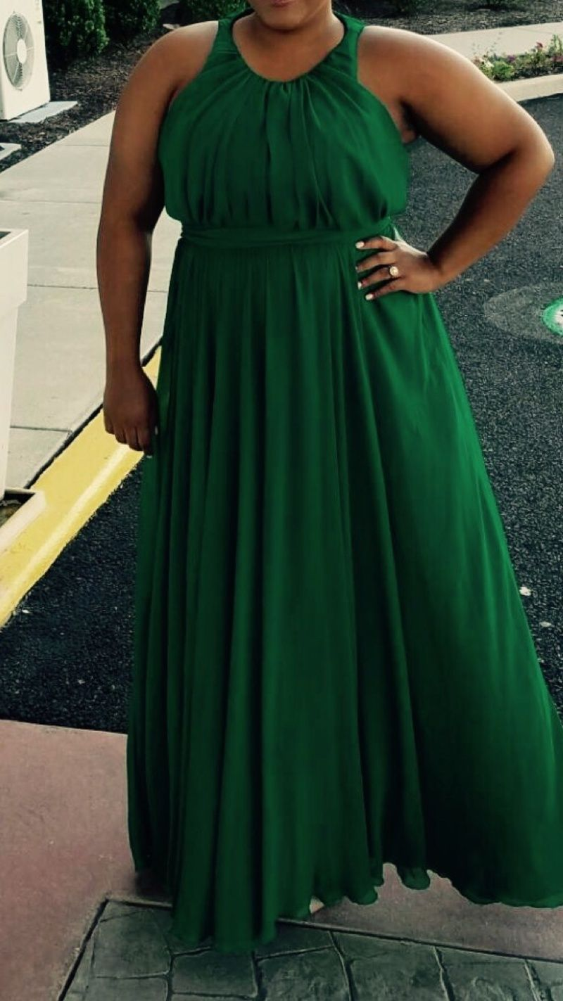 Rent Fluorite Emerald Gala Gown by Badgley Mischka for $120 only at ...