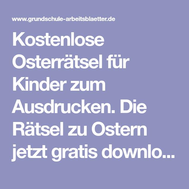 Ausgezeichnet Ostern Mathe Arbeitsblatt Für Freie Bilder Kinder ...