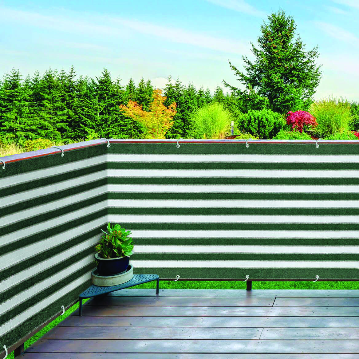 Cozy outdoor privacy screen lowes canada for your home #balconyprivacyscreen