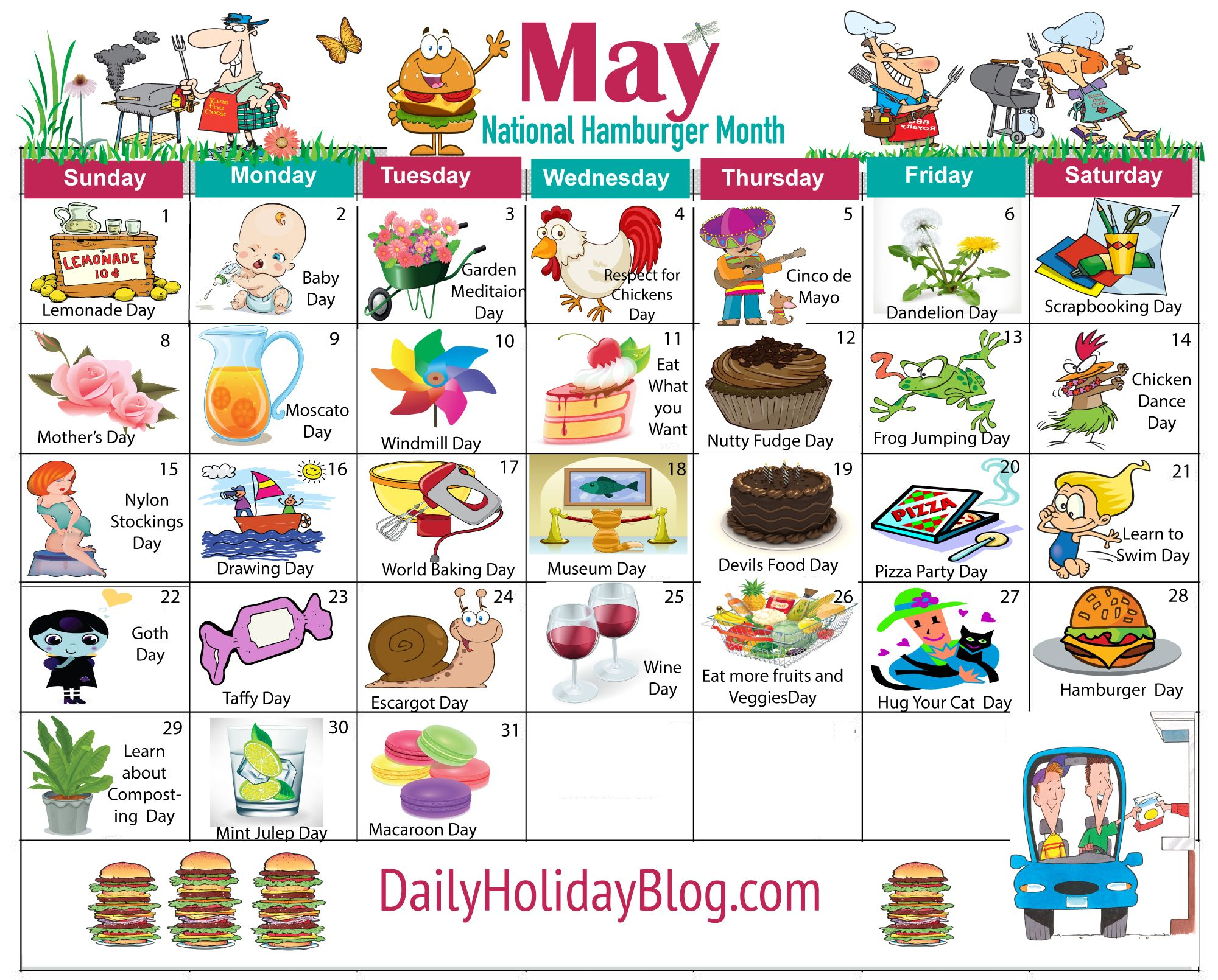 Monthly Calendar Events Special Days Celebrated : May holiday calendar bullet journal pinterest