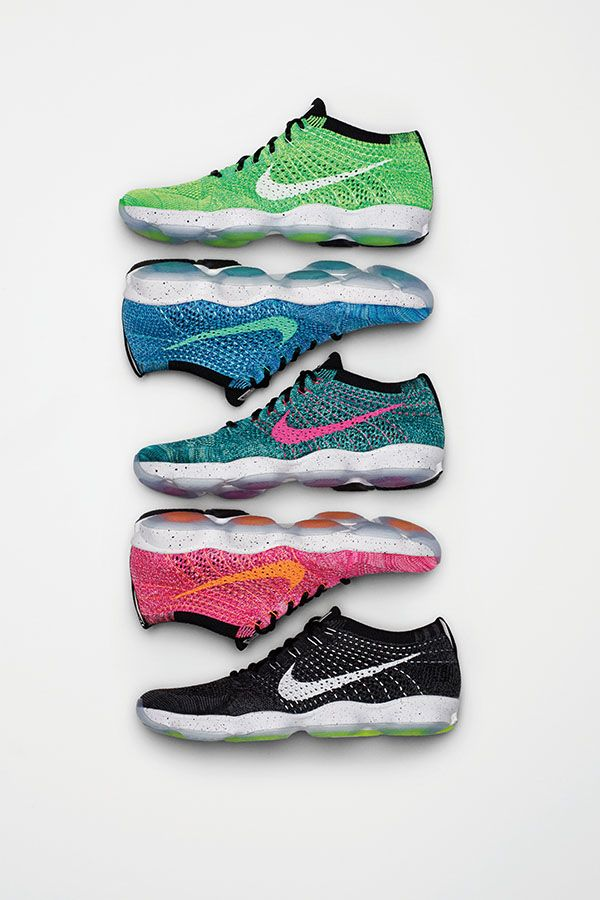 buy online 74ab2 ba3c3 Get a little more bounce from a sole with hexagonal air pods. The Nike  Flyknit Zoom Agility is built for quick-on-your-feet workouts.