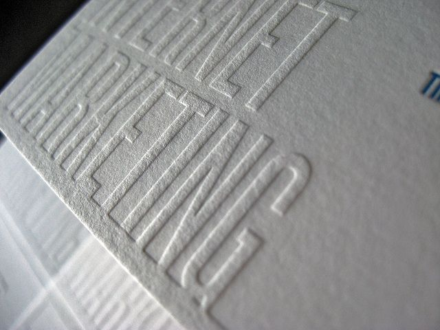 Pin By Acceptprint Llc On Raised Letter Business Cards Pinterest