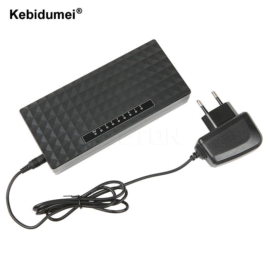 Kebidumei 8 Port Netzwerk Gigabit Switch 10/100/1000 Mbps Fast ...
