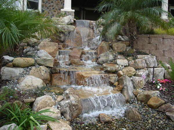 American Pondless Waterfall Kit Decoracion para jardines, Cascadas - fuentes de cascada