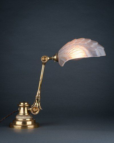 Antique lighting supplied and beautifully restored by fritz fryer lighting