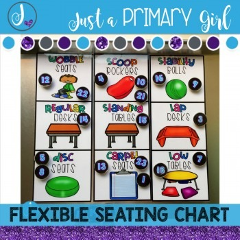This flexible seating clip chart is perfect for pre planning where students will sit during the day or allowing student choice also rh pinterest