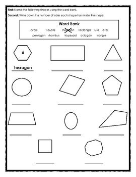 FREE - Elementary Geometry: Angles, Shapes and Parallel Lines I - 2 ...