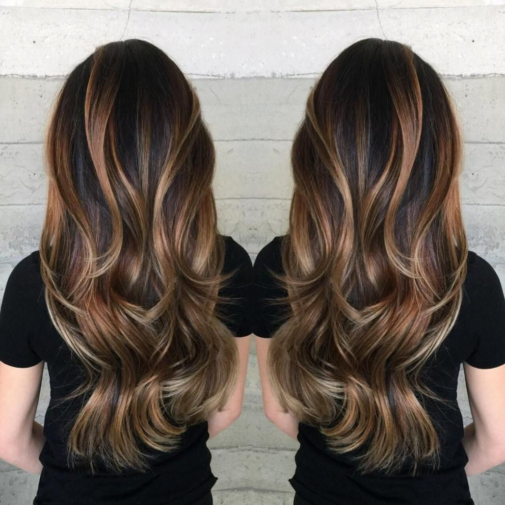 flattering balayage hair color ideas for my summer hair
