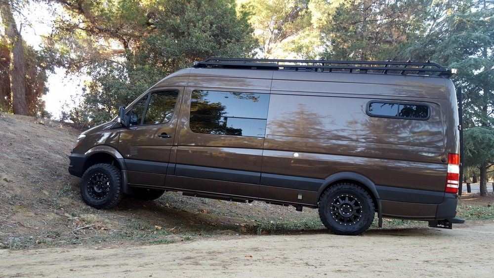Sawtooth Adventure Van 03 170 4x4 Awesome Build Can Buy Components Sprinter Camper Van Mercedes Camper