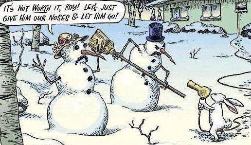 Snowmen Held Up Quotes Rabbit Winter Snow Funny Quotes Christmas Snowmen Winter Quotes Winte Funny Christmas Cartoons Funny Christmas Pictures Christmas Comics