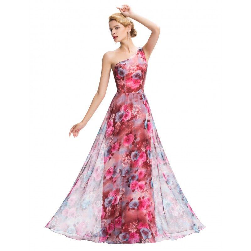 fe167b4fec7e Farebné spoločenské šaty GK000059