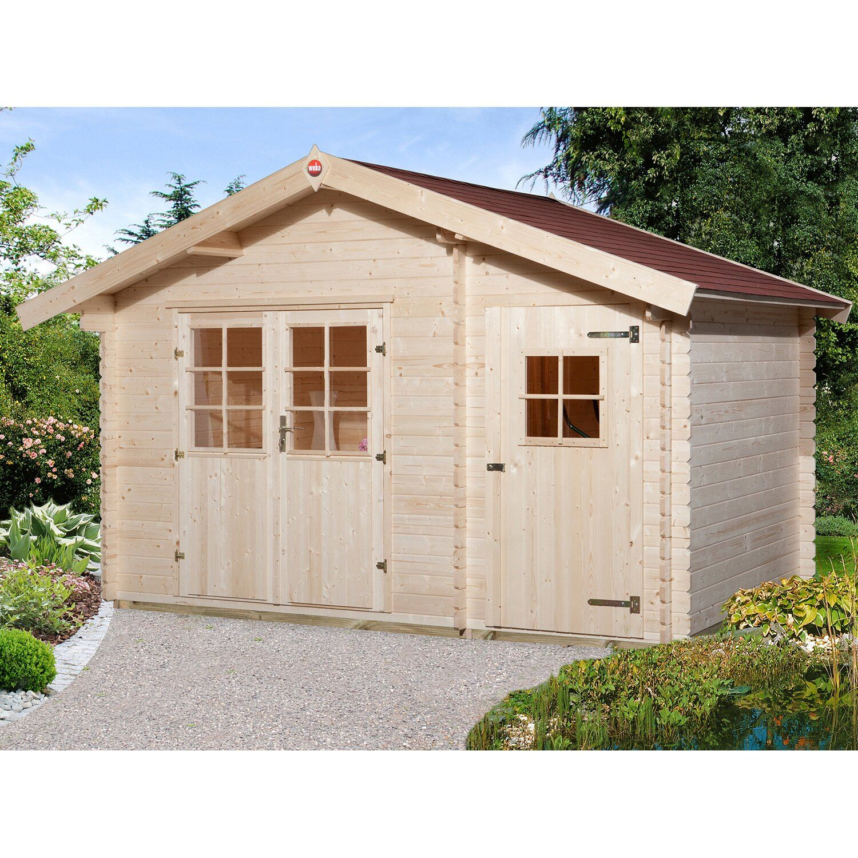 Weka Holz Gartenhaus Brixen Mit Satteldach Natur B X T 370 Cm X 200 Cm Kaufen Bei Obi In 2021 Weka Gartenhaus Gartenhaus Gartenhaus Holz